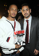 l to r: Edgar Hernadez and T.I. at The Vibe Magazine private reception in honor of Grammy Award winning Superstar artist and actor, T.I held at The Eldrige on February 9, 2009 in New York City