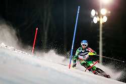 11.02.2013, Planai, Schladming, AUT, FIS Weltmeisterschaften Ski Alpin, Super Kombination, Slalom, Herren, im Bild  Andreas Romar (FIN) // Andreas Romar of Finland  in action during Mens Super Combined Slalom at the FIS Ski World Championships 2013 at the Planai Course, Schladming, Austria on 2013/02/11. EXPA Pictures © 2013, PhotoCredit: EXPA/ Johann Groder
