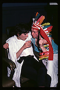 Nicky Shulman and Geordie Greig at Piers Gaveston Ball. Oxford Town Hall.1981 approx© Copyright Photograph by Dafydd Jones 66 Stockwell Park Rd. London SW9 0DA Tel 020 7733 0108 www.dafjones.com