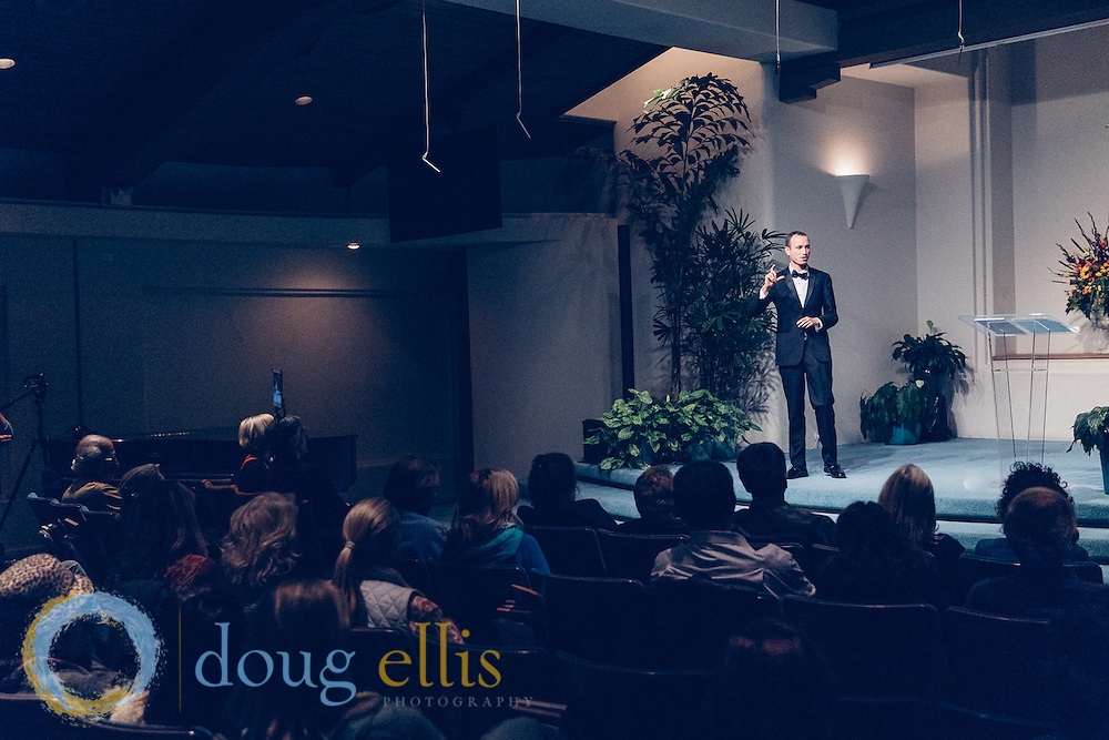 Professional event photography for Santa Barbara Conscious Networking Event, Unity Church Santa Barbara CA.