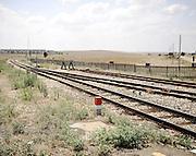Binari, stazione Pescariello. Bari, 11 agosto 2013. Christian Mantuano / OneShot