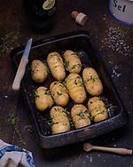 Hasselback potatoes, Brechin