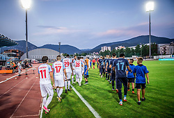 Players during 2nd Leg football match between ND Gorica (SLO) and Panionios GSS (GRE) in 2nd Qualifying Round of UEFA Europa League 2017/18, on July 20, 2017 in Nova Gorica, Slovenia. Photo by Vid Ponikvar / Sportida