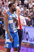 DESCRIZIONE : Reggio Emilia Lega A 2014-15 Grissin Bon Reggio Emilia - Banco di Sardegna Sassari playoff finale gara 7 <br /> GIOCATORE :Lawal Shane<br /> CATEGORIA : Delusione Mani <br /> SQUADRA : Banco di Sardegna Sassari<br /> EVENTO : LegaBasket Serie A Beko 2014/2015<br /> GARA : Grissin Bon Reggio Emilia - Banco di Sardegna Sassari playoff finale gara 7<br /> DATA : 26/06/2015 <br /> SPORT : Pallacanestro <br /> AUTORE : Agenzia Ciamillo-Castoria / Richard Morgano<br /> Galleria : Lega Basket A 2014-2015 Fotonotizia : Reggio Emilia Lega A 2014-15 Grissin Bon Reggio Emilia - Banco di Sardegna Sassari playoff finale gara7<br /> Predefinita :