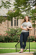 Portrait of student Shea Pruhs on the campus of Concordia Seminary St. Louis on Monday, Aug. 18, 2014, in Clayton, Mo. LCMS Communications/Erik M. Lunsford