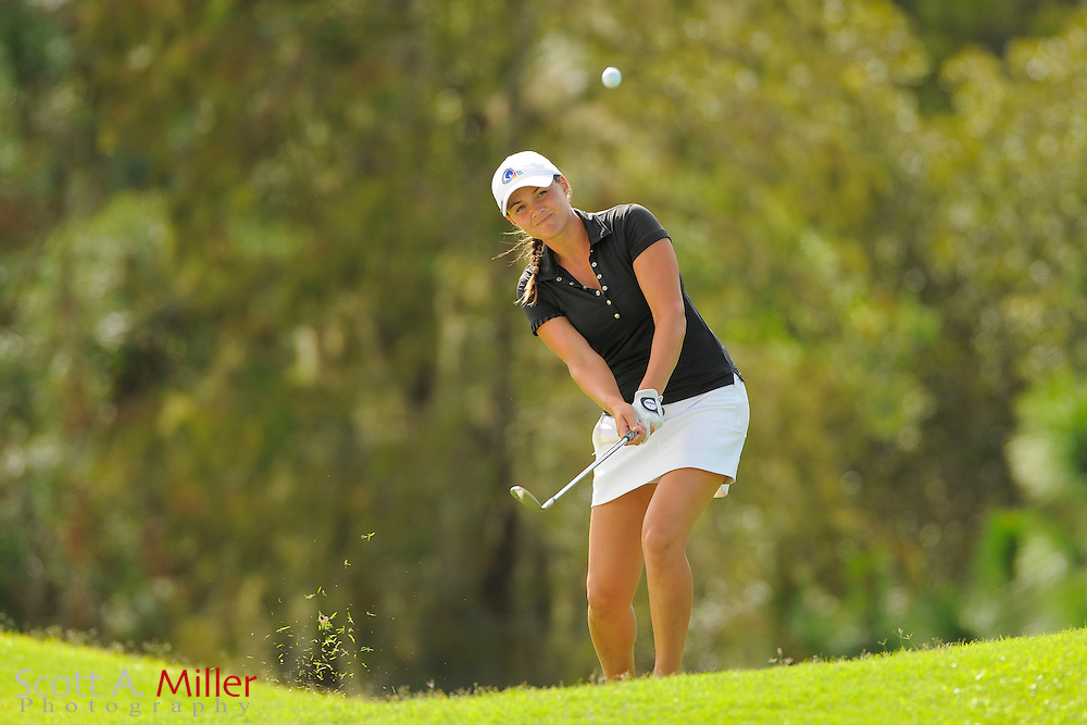 Stefanie Kenoyer during the final round of the Symetra Tour Championship at LPGA International on Sept. 29, 2013 in Daytona Beach, Florida. <br /> <br /> <br /> &copy;2013 Scott A. Miller