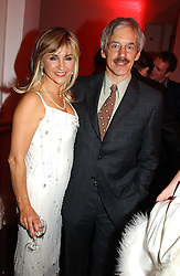 LESLEY GARRETT and her husband PETER GARRETT at the English National Opera's 'On The Town' presented by SKY and Artsworld followed by a Tribute to Leonard Bernstein hosted by Jerry Hall at The London Coliseum, St.Martin's Lane, London WC2 on 11th May 2005.
