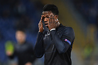 Keita Balde Diao Lazio Delusione Dejection <br /> Roma 17-03-2016 Stadio Olimpico Football Europa League Round of 16 second leg 2015/2016 Lazio - Sparta Praha. Foto Andrea Staccioli / Insidefoto