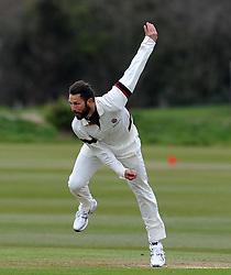 Somerset's Peter Trego - Photo mandatory by-line: Harry Trump/JMP - Mobile: 07966 386802 - 23/03/15 - SPORT - CRICKET - Pre Season Fixture - Day 1 - Somerset v Glamorgan - Taunton Vale Cricket Club, Somerset, England.