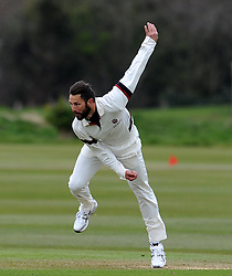 Somerset's Peter Trego - Photo mandatory by-line: Harry Trump/JMP - Mobile: 07966 386802 - 23/03/15 - SPORT - CRICKET - Pre Season Fixture - Day 1 - Somerset v Glamorgan - Taunton Vale Cricket Club, Somerset, England.