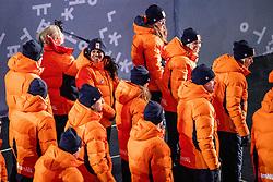 09-02-2018 KOR: Olympic Games day -1, PyeongChang<br /> Openingsceremonie Pyeongchang 2018 Olympic Winter Games / Nederland met Janice Das