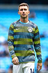 Aymeric Laporte of Manchester City - Mandatory by-line: Robbie Stephenson/JMP - 19/08/2018 - FOOTBALL - Etihad Stadium - Manchester, England - Manchester City v Huddersfield Town - Premier League