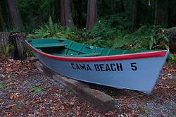 Skiff #5, Cama Beach State Park, Camano Island, Washington, US