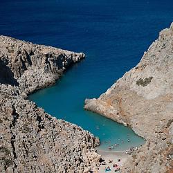 Seitan Limania Beach, Akrotiri, Chania, Crete, Greece