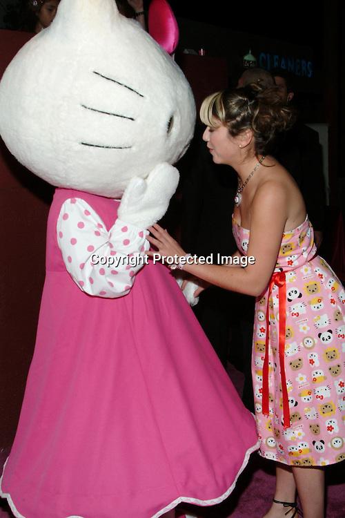 Hello Kitty<br />Tarina Tarantino&rsquo;s Hello Kitty Pink Head Collection Launch Party <br />VIDA<br />Los Feliz, Los Angeles, CA, USA<br />Thursday, November, 13, 2003  <br />Photo By Celebrityvibe.com/Photovibe.com