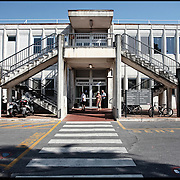 Viste esterne dei padiglioni dell' Ospedale Santa Corona di Pietra Ligure (SV) .22 agosto 2011