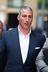 © London News Pictures. 02/05/2013. London, UK. Property tycoon Andreas Panayiotou (pictured) arriving at Southwark Crown Court with his sons Costas Panayiotou  and George Panayiotou (not pictured). George and Costas Panayiotou received a a 15-month sentence suspended for 18 months for an attack on two off-duty policemen on a night out, which left of the off-duty officers one needing titanium plates in his cheek and eye socket. Photo credit: Ben Cawthra/LNP<br /> <br /> Read more: http://www.dailymail.co.uk/news/article-2618831/Judge-blasts-sons-one-Britains-richest-tycoons-cowardly-vicious-attack-left-police-officer-needing-titanium-plates-lets-walk-FREE-court.html#ixzz30a8skGmd <br /> Follow us: @MailOnline on Twitter | DailyMail on Facebook<br /> <br /> Read more: http://www.dailymail.co.uk/news/article-2618831/Judge-blasts-sons-one-Britains-richest-tycoons-cowardly-vicious-attack-left-police-officer-needing-titanium-plates-lets-walk-FREE-court.html#ixzz30a7aQ300 <br /> Follow us: @MailOnline on Twitter | DailyMail on Facebook. Photo credit: Ben Cawthra/LNP