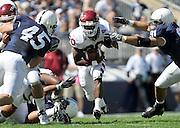 Sept 19, 2009; State College, PA, USA; Temple running back Kee-ayre Griffin (20) during the first half against Penn State at Beaver Stadium.  Mandatory Credit: Jason Miller-US PRESSWIRE