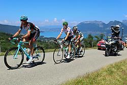 Annecy-Semnoz, France - Tour de France :: Stage 20 - 20-07-2013 - Leading group on Cote du Pugot with Pierre ROLLAND