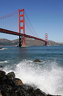 "US-SAN FRANCISCO: :The Golden Gate Bridge"" PHOTO: GERRIT DE HEUS"