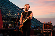 Matthew Houck, Phosphorescent, at the Rock and Roll Hall of Fame, 2013, concert photography by Akron music photographer, Cleveland music photographer Mara Robinson