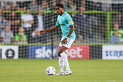 Forest Green Rovers Reece Brown(10) on the ball during the EFL Sky Bet League 2 match between Forest Green Rovers and Stevenage at the New Lawn, Forest Green, United Kingdom on 21 August 2018.