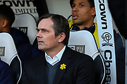 Derby County Manager Phillip Cocu during the EFL Sky Bet Championship match between Derby County and Blackburn Rovers at the Pride Park, Derby, England on 8 March 2020.