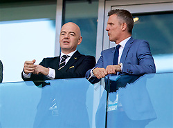 MOSCOW, RUSSIA - Saturday, June 16, 2018: Gianni Infantino, President of FIFA, during the FIFA World Cup Russia 2018 Group D match between Argentina and Iceland at the Spartak Stadium. (Pic by David Rawcliffe/Propaganda)