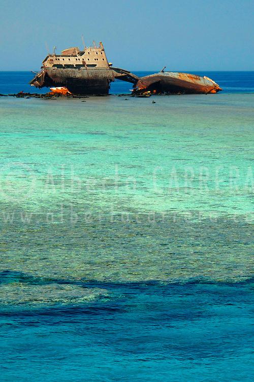 Alberto Carrera, The loulia wreck in Gordon Reef, Red Sea, Egypt