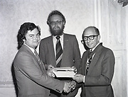 Presentation of certs to new members of I.C.M.A. at Shelbourne Hotel,27 St Stephen's Green, Dublin<br />