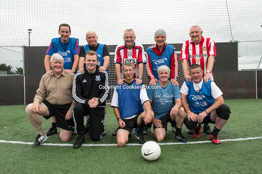 Picture by Christian Cooksey/CookseyPix.com on behalf of South Ayrshire Council.<br /> <br /> Strictly Seniors magazine.<br /> <br /> Pro-Soccer, Glenmuir Place, Walking Football<br /> <br /> <br /> <br /> <br /> All rights reserved. For full terms and conditions see www.cookseypix.com
