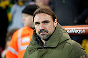 Norwich City manager Daniel Farke before the The FA Cup 3rd round match between Norwich City and Portsmouth at Carrow Road, Norwich, England on 5 January 2019.