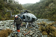 Back country drop into the famed Rangitikei River on New Zealand's north island.