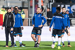 Ruud Vormer of Club Brugge (M) during the warming up during the Jupiler Pro League match between KV Mechelen and Club Brugge on December 20, 2017 at the AFAS stadium in Mechelen, Belgium.