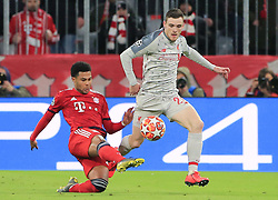 13.03.2019, CL, Champions League, Achtelfinale Rueckspiel, FC Bayern Muenchen vs FC Liverpool, Allianz Arena Muenchen , Fussball, Sport im Bild:.. Serge Gnabry (FCB) vs Andrew Robertson (FC Liverpool)..DFL REGULATIONS PROHIBIT ANY USE OF PHOTOGRAPHS AS IMAGE SEQUENCES AND / OR QUASI VIDEO...Copyright: Philippe Ruiz..Tel: 089 745 82 22.Handy: 0177 29 39 408.e-Mail: philippe_ruiz@gmx.de (Credit Image: © Philippe Ruiz/Xinhua via ZUMA Wire)
