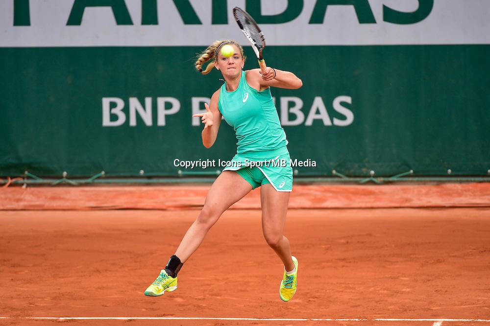 Charlotte ROBILLARD MILLETTE - 02.06.2015 - Jour 10 -Roland Garros 2015<br /> Photo : David Winter / Icon Sport