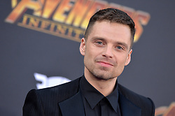 Sebastian Stan attends the World Premiere of Avengers: Infinity War on April 23, 2018 in Los Angeles, Ca, USA. Photo by Lionel Hahn/ABACAPRESS.COM