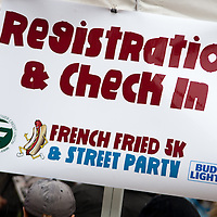 First annual French Fried 5k and Street Party held in Decatur, Illinois