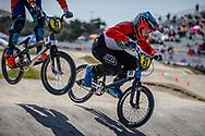 13 Boys #31 (LECLERC Enzo) FRA at the 2018 UCI BMX World Championships in Baku, Azerbaijan.