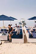 Navy Beach restaurant, Montauk, East Hampton, NY