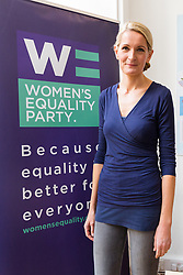 © Licensed to London News Pictures. 12/05/2017. LONDON, UK.  SOPHIE WALKER, the leader of the Women's Equality Party at the launch of the party's general election manifesto at party headquarters in London.  Photo credit: Vickie Flores/LNP
