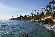 The Coastline of Laguna Beach California