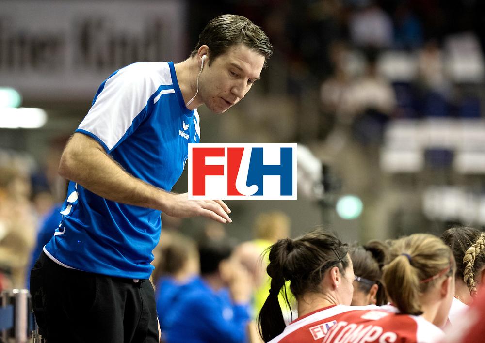 BERLIN - Indoor Hockey World Cup<br /> Quarterfinal 2: Ukraine - Switzerland<br /> foto: KLOTER Michael.<br /> WORLDSPORTPICS COPYRIGHT FRANK UIJLENBROEK