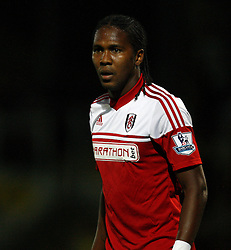 Fulham's Hugo Rodallega - Photo mandatory by-line: Matt Bunn/JMP - Tel: Mobile: 07966 386802 27/08/2013 - SPORT - FOOTBALL - Pirelli Stadium - Burton - Burton Albion V Fulham -  Capital One Cup - Round 2
