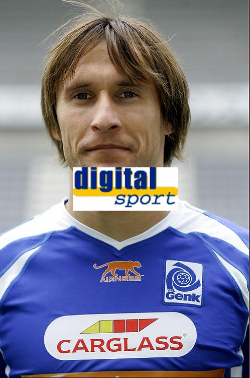 GENK, 23/07/2007<br /> SPORT / FOOTBALL / VOETBAL /<br /> PRESENTATION / VOORSTELLING / KRC GENK / RACING GENK / 2007 - 2008 /<br /> IVAN BOSNJAK<br /> Norway only