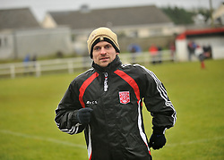 Westport United's Dave Cameron who was unavailable due to injury on sunday last.<br /> Pic Conor McKeown
