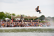 Mike Dowdy at the Mastercraft Throwdown at Millennium Park in Grand Rapids, MI. ©Brett Wilhelm/ESPN