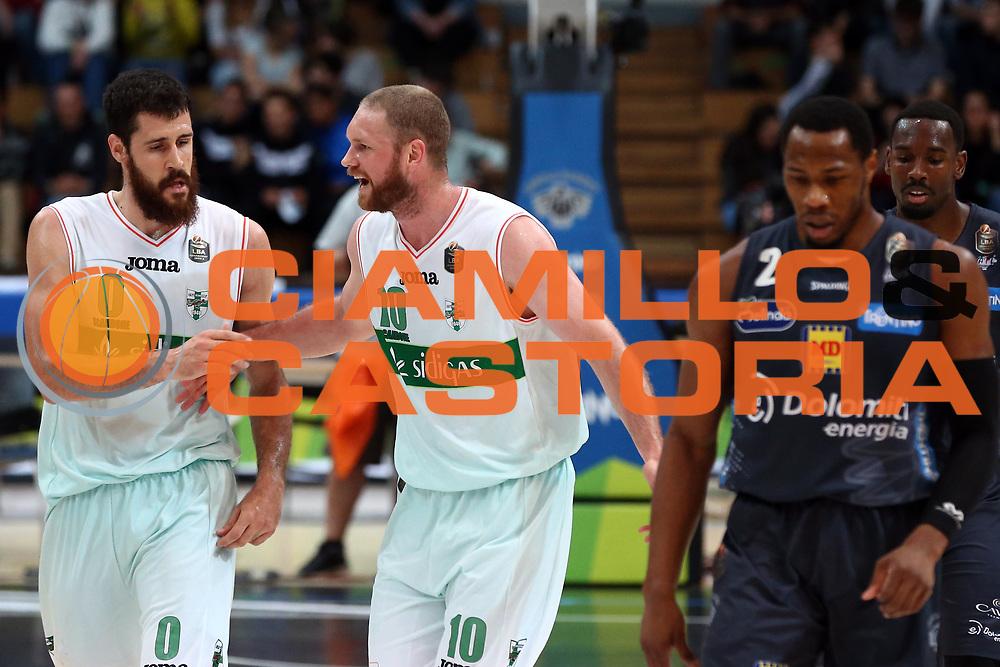 Zerini Andrea, Leunen Maarten<br /> Dolomiti Energia Trentino vs Sidigas Avellino<br /> Lega Basket Serie A 2016/2017<br /> Trento, 07/05/2017<br /> Foto Ciamillo-Castoria/A. Gilardi