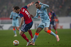 December 13, 2018 - Budapest, Hungary - Szabolcs Huszti (L) in action during the UEFA Europa League Group L match between MOL Vidi FC and Chelsea FC at Groupama stadium on Dec 13, 2018 in Budapest, Hungary. (Credit Image: © Robert Szaniszlo/NurPhoto via ZUMA Press)