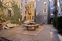 Patio at 731 Greenwich St